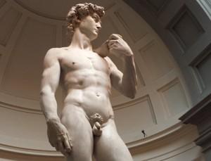 Michelangelo's DAVID – Short Poem upon Reflection ~