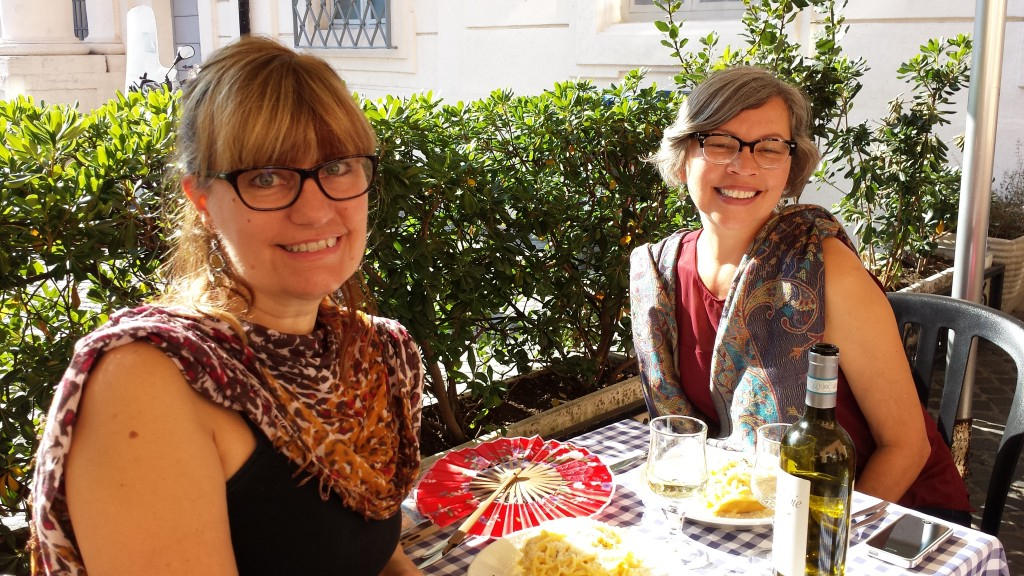 All in all we really enjoyed our meal and experience on a warm Rome day, 11.1.14