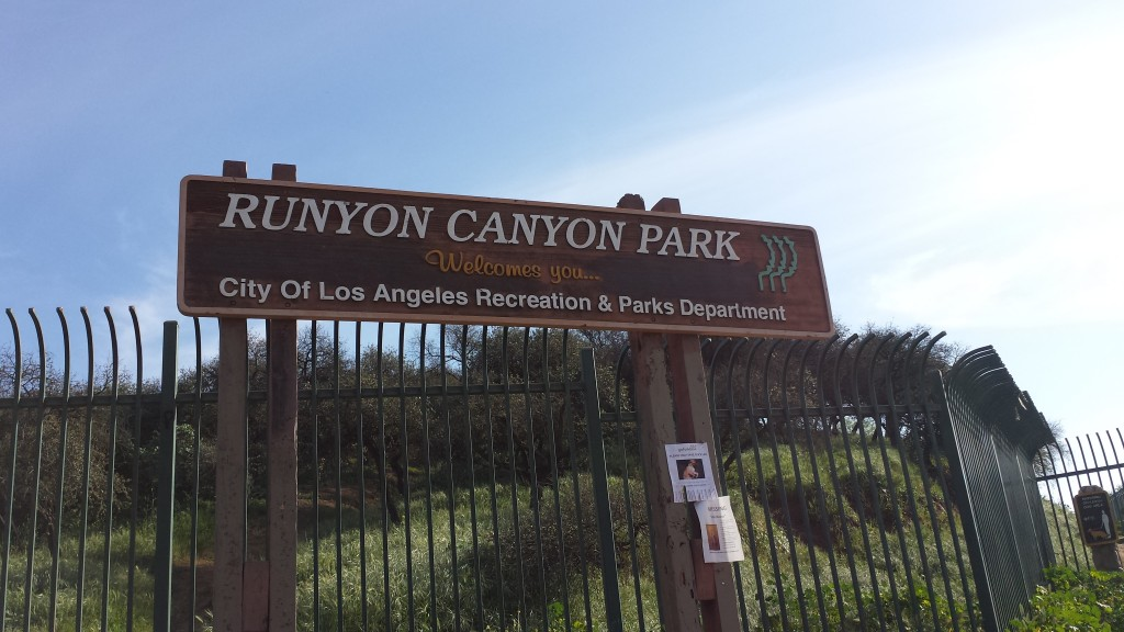 Hiking in L.A., Runyon Canyon Park – 3.22.15