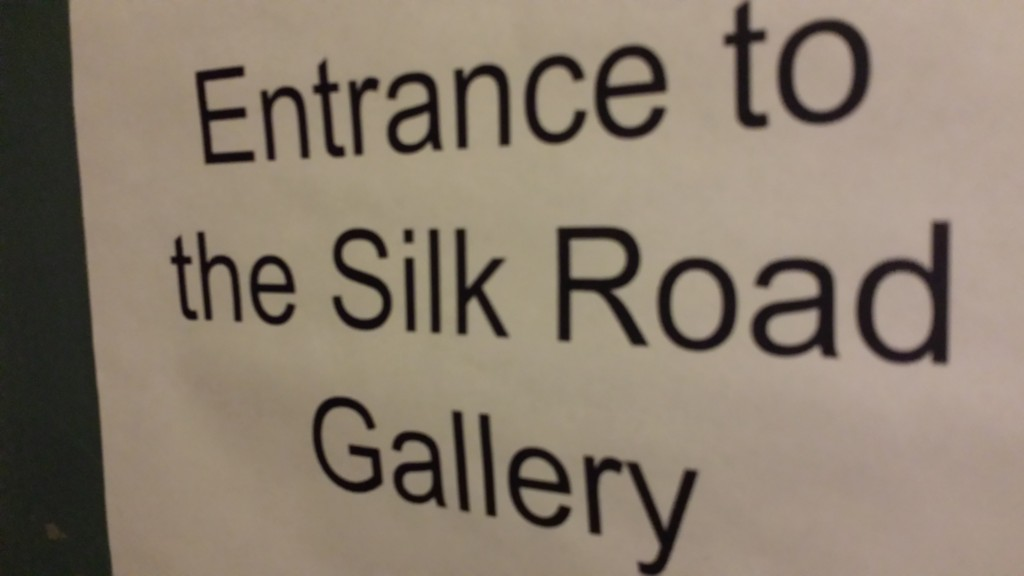 Gotta love any sign that claims to be an entrance associated with the Silk Road!
