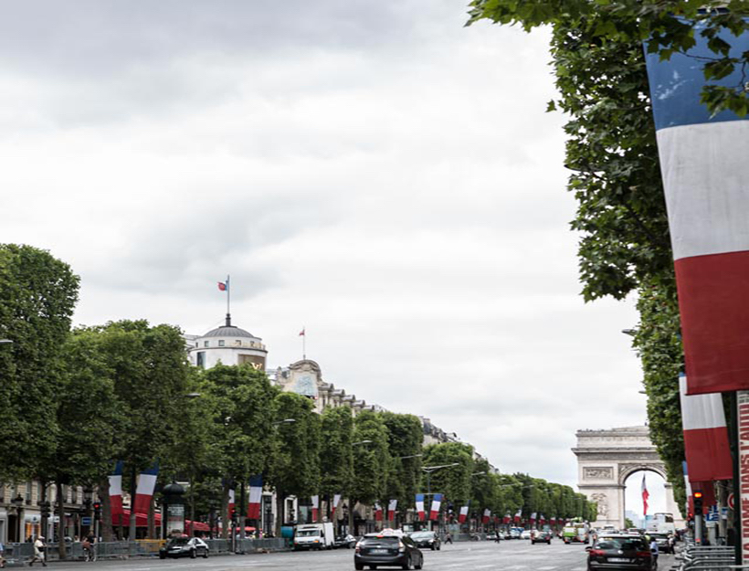 2015 Fête National de la France 14 juillet 8 èmè arrondissement Champs-Élysées, Arc de Triumphe