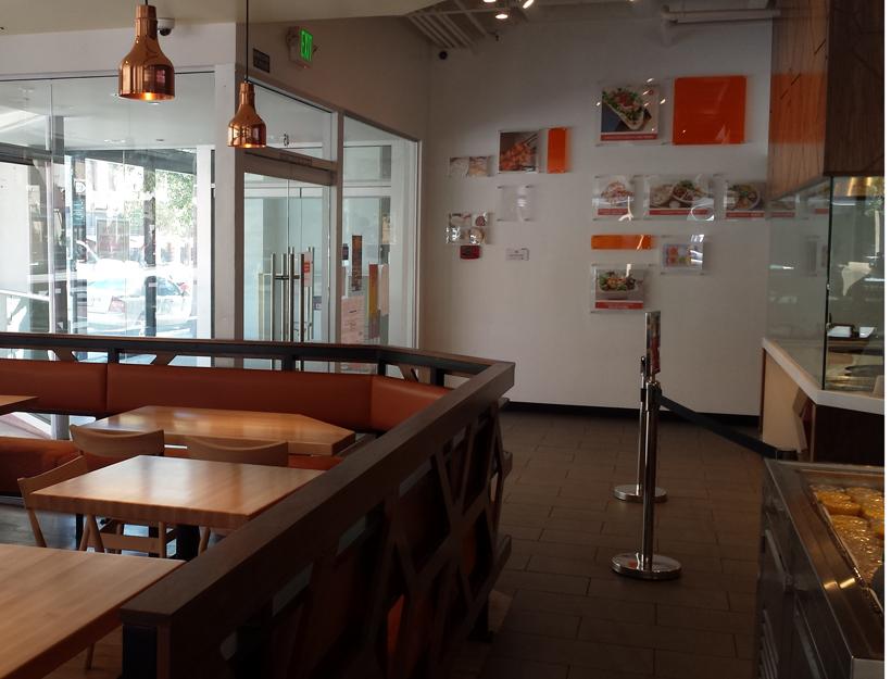 California Chutney Tandoori Kitchen, corner of Raymond & Union in Old Town Pasadena.