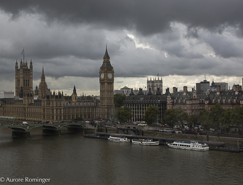 Iconic London, September Skies and Westminister
