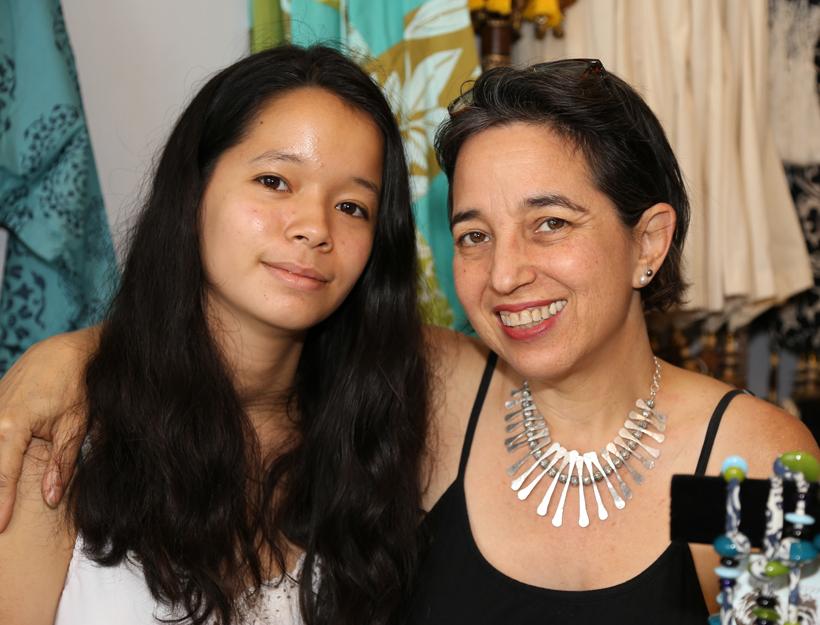 zenDeluxe, Owner, Andrea Phillips & daughter Lucy, Pasadena, CA