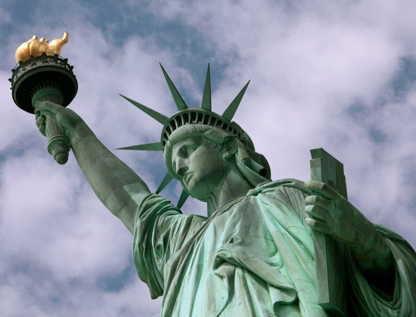 """Give me your tired, your poor, your huddled masses yearning to breathe free…"" – America"