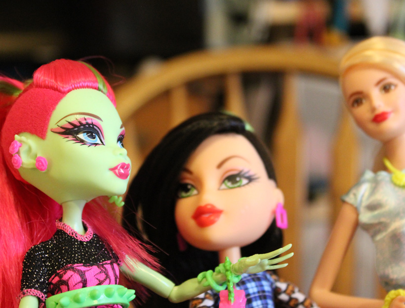 Dolls with Shaved Hairstyles: The Times They Are a Changin'