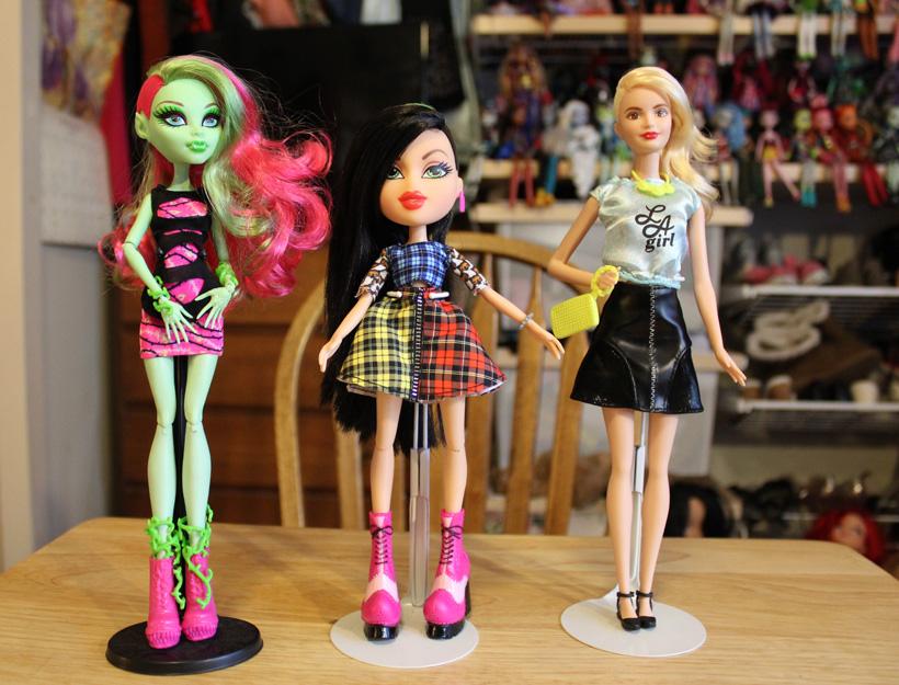 Venus McFlytrap, Jade, and Fashionista