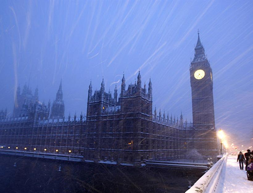 It Snowed… In London!
