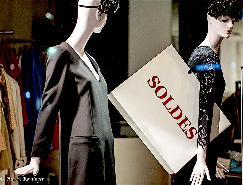 """January 2016 Paris """"Soldes"""""""