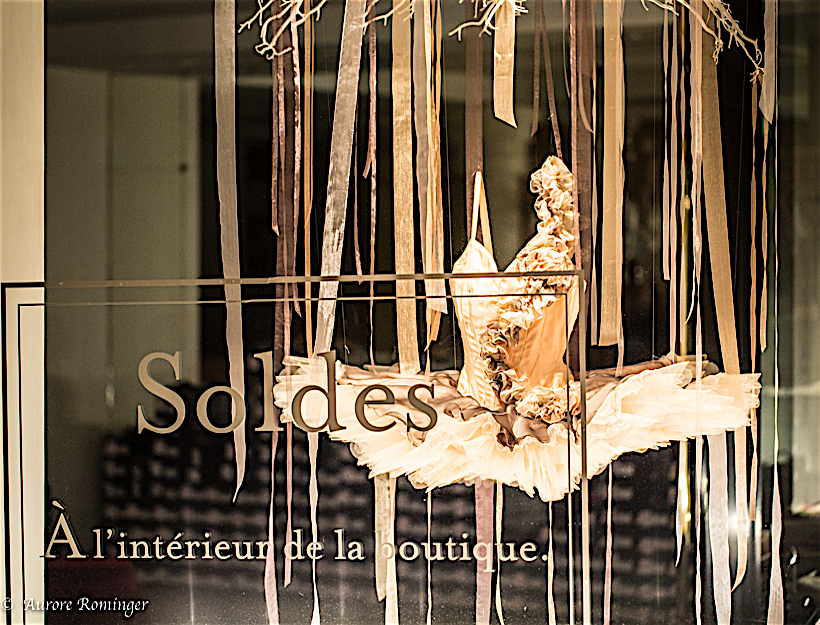 On the Lighter Side, Winter Shopping in Paris… Soldes