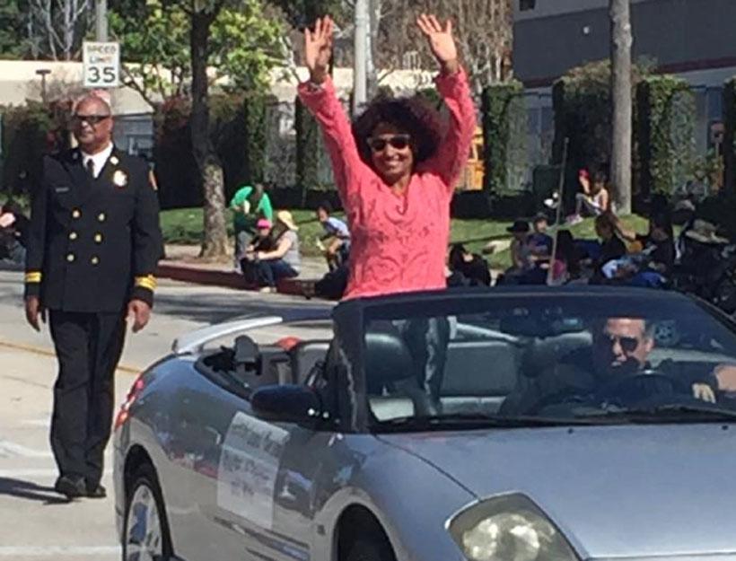 "Linda ""Peaches"" Tavani Celebrity Grand Marshall for Pasadena Black History Month Parade!"