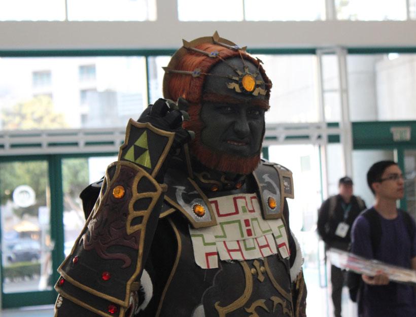 Wondercon 2016, L.A. Ganondorf cosplay