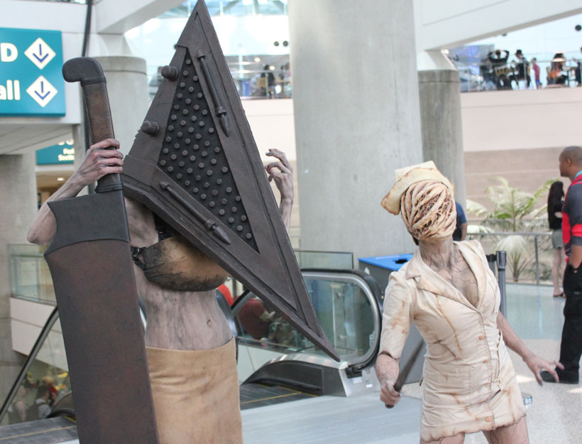 Wondercon 2016, L.A. Silent Hill cosplay