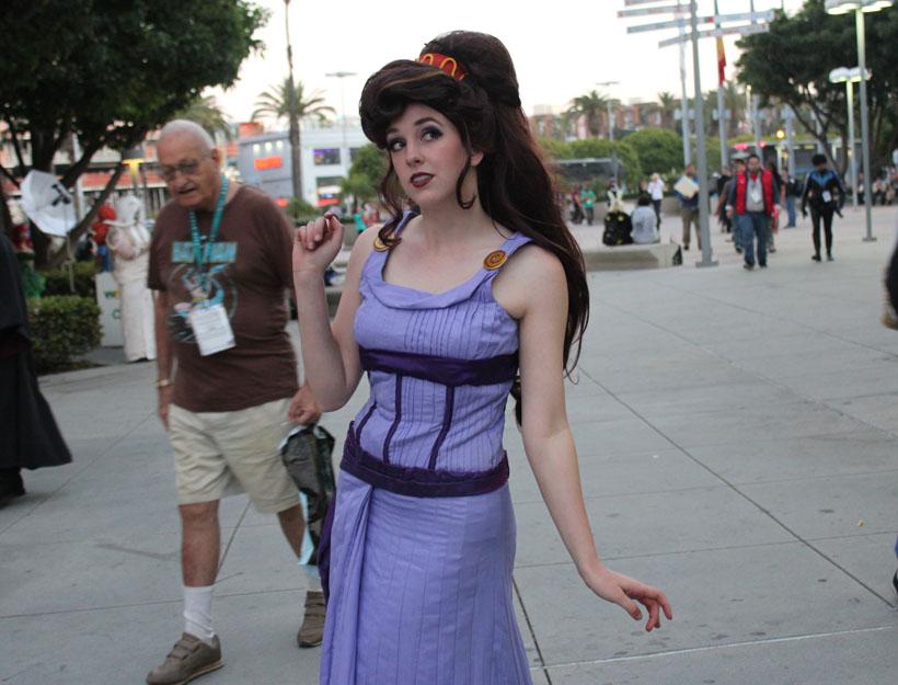 Wondercon 2016, L.A. Disney Meg cosplay