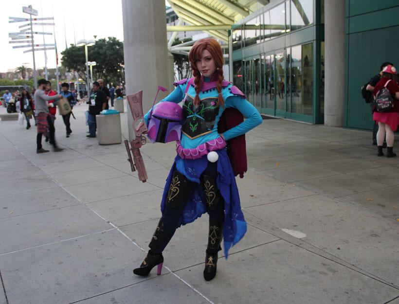 Wondercon 2016, L.A. Anna Boba Fett cosplay