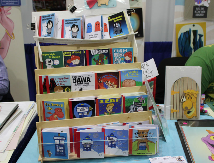 WonderCon Los Angeles 2016 children's books