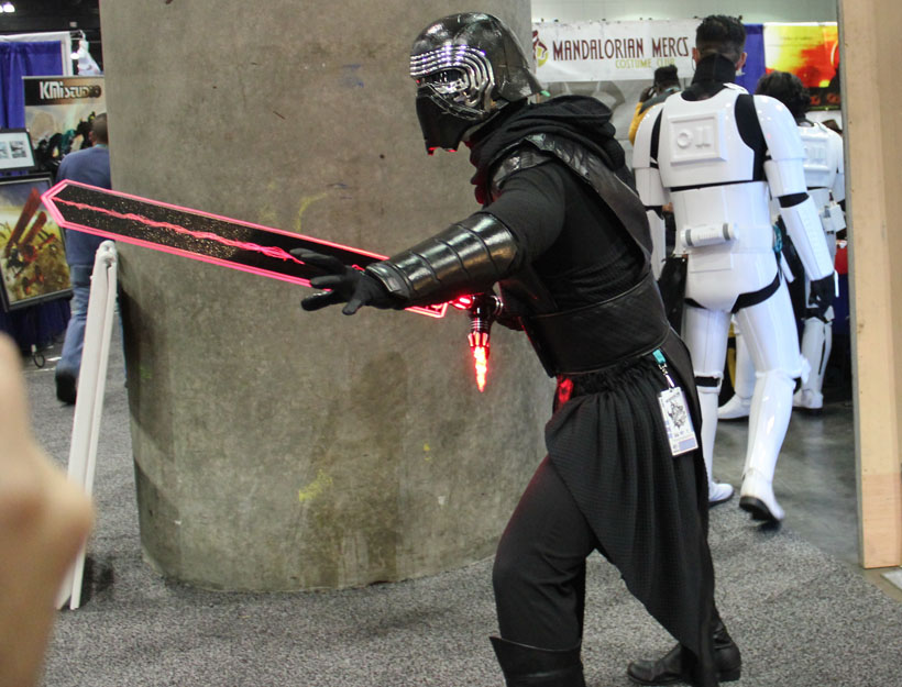 WonderCon Los Angeles 2016 Kylo Ren cosplay