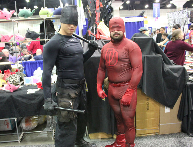 WonderCon Los Angeles 2016 Daredevil cosplay