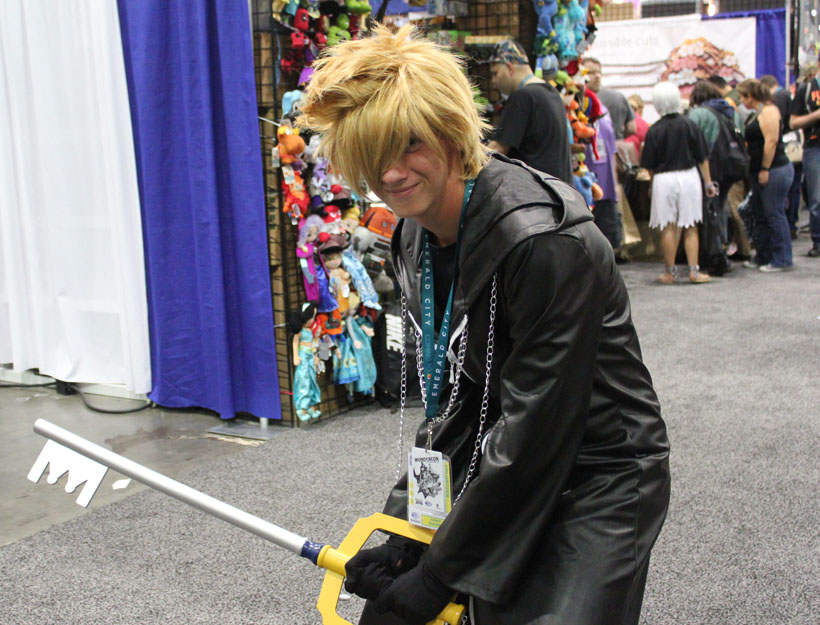 WonderCon Los Angeles 2016 Kingdom Hearts cosplay