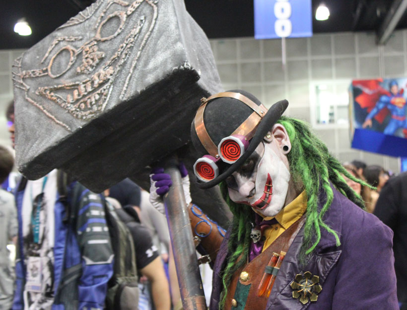 WonderCon Los Angeles 2016 Joker cosplay