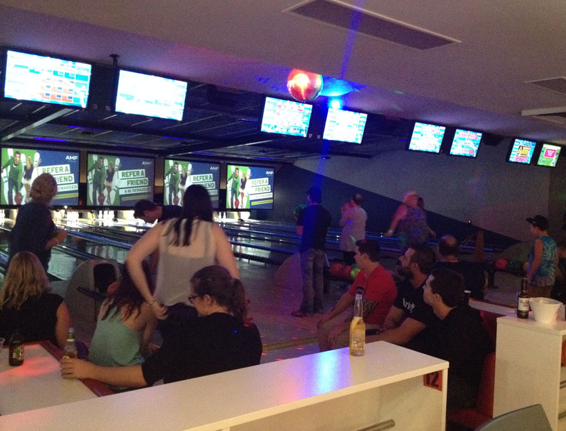 AMF's After-Dark Bowling