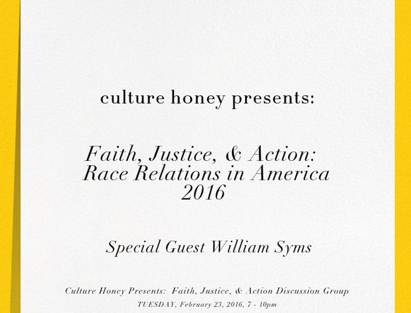 Recap – Faith, Justice & Action: Race Relations in America, 2016