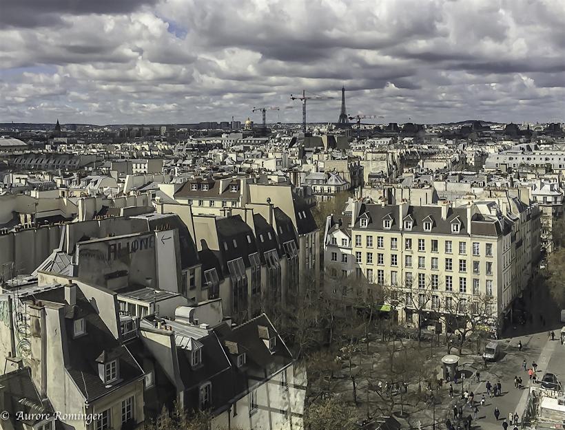 Paris, Anselm Keifer, Musée Centre National d'Art et de Culture Georges Pompidou