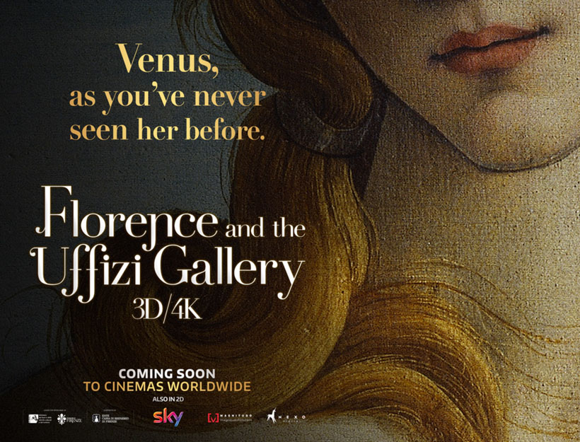 Pasadena Film Flash! Florence & The Uffizi Gallery, 4.25 & 4.26, at the Laemmle