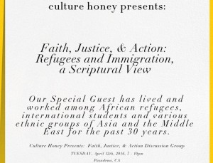 Recap – Faith, Justice & Action: Refugees and Immigration