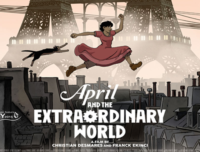 April and the Extraordinary World – A Film Review
