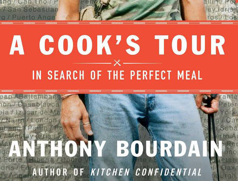 Book Review:  A Cook's Tour by Anthony Bourdain
