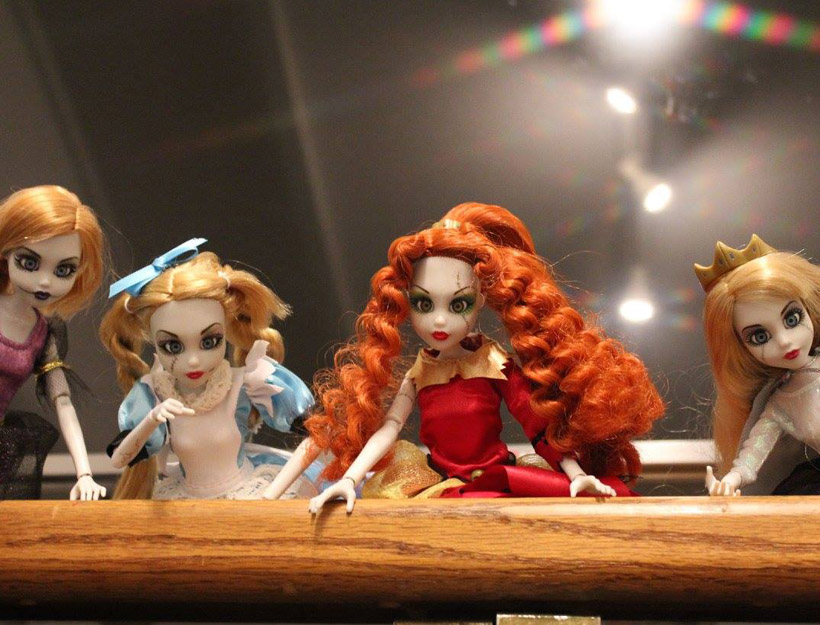 A Little Princess and a Little Zombie: Once Upon a Zombie Dolls