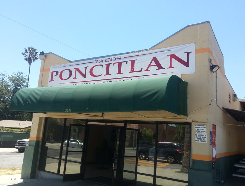 Tacos Poncitlan: The Quest for the Perfect Taqueria. Part One in an Occasional Series