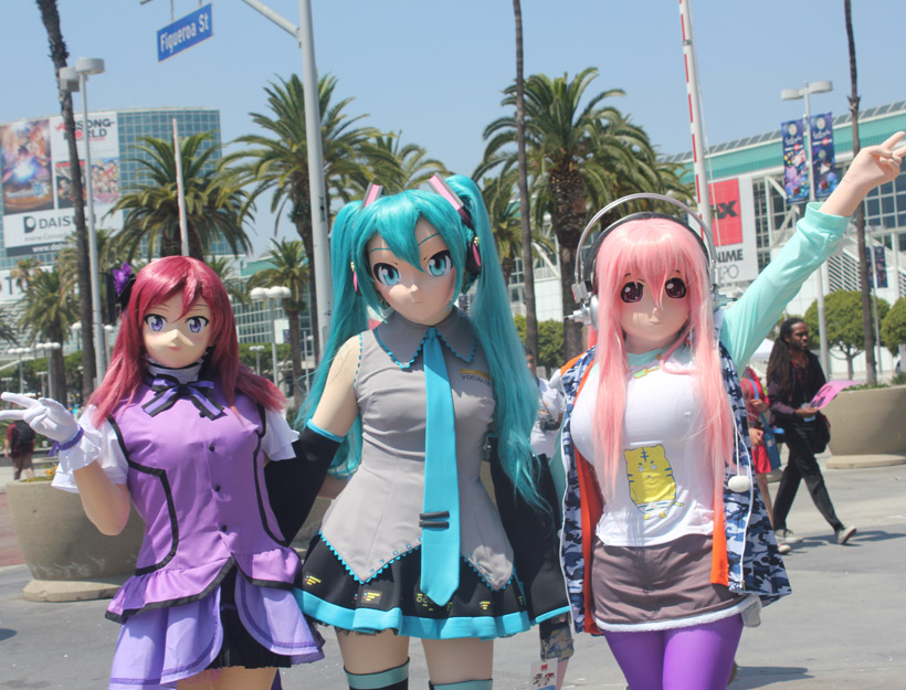 Anime Expo 2016 – Cosplay, Cosplay Everywhere…