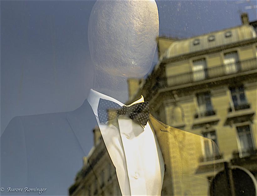 Paris Passy, New Fall Fashion in the Windows