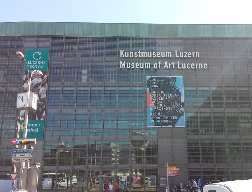 Kunstmuseum Lucern – Contemporary Art in Lucern, Switzerland!