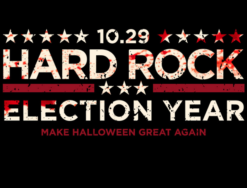 Making Halloween Great Again in San Diego, CA @ the Hard Rock Cafe