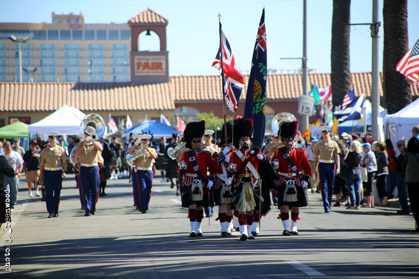 Official Color Guard of the Seaside Highland Games - 42nd Black Watch Highland Society