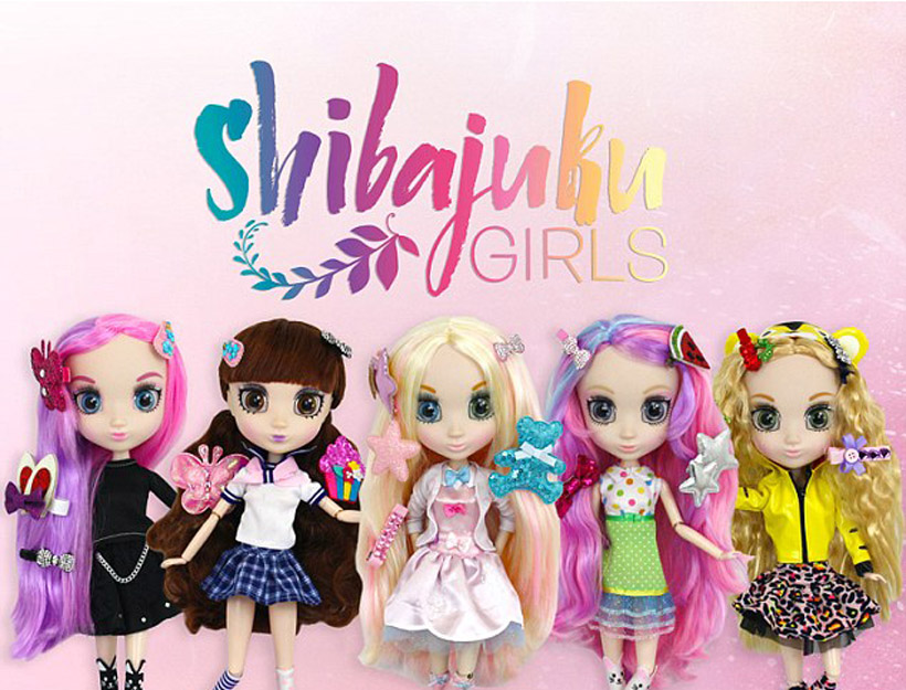 Shibajuku Girls: Japanese-Inspired Fashion Dolls Come to the States!