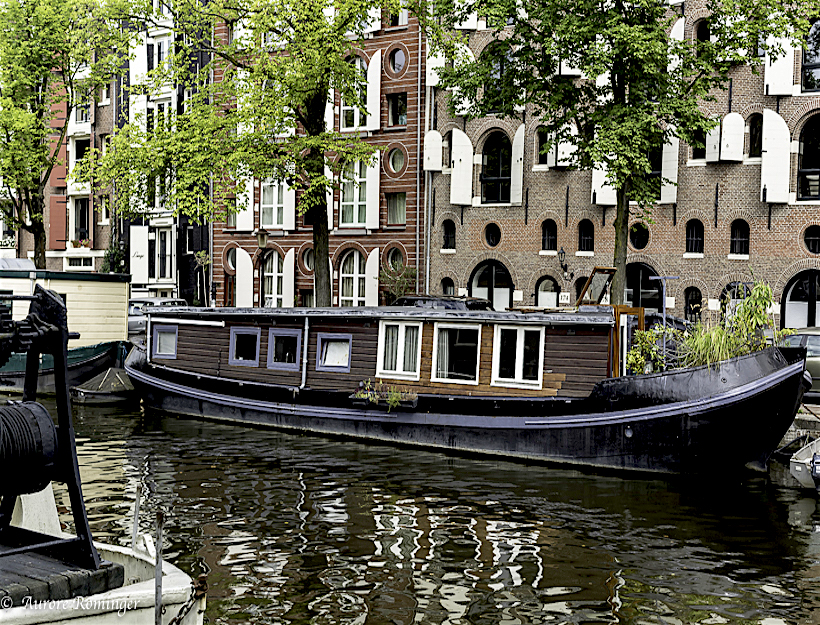Amsterdam Home: Boats, Bridges, Bicycles