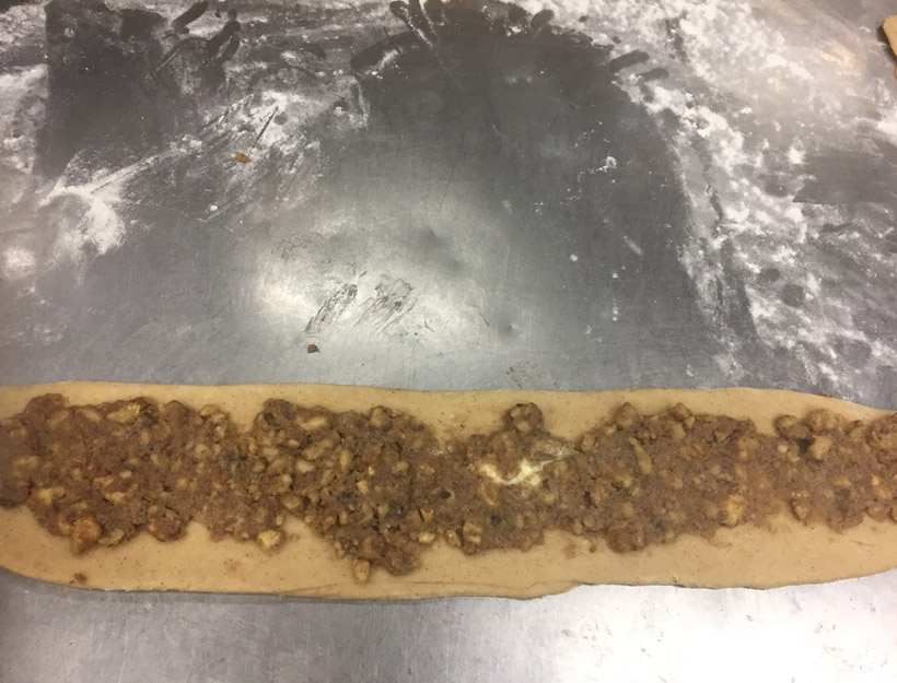 Kortni's Kitchen: Stuffed Challah