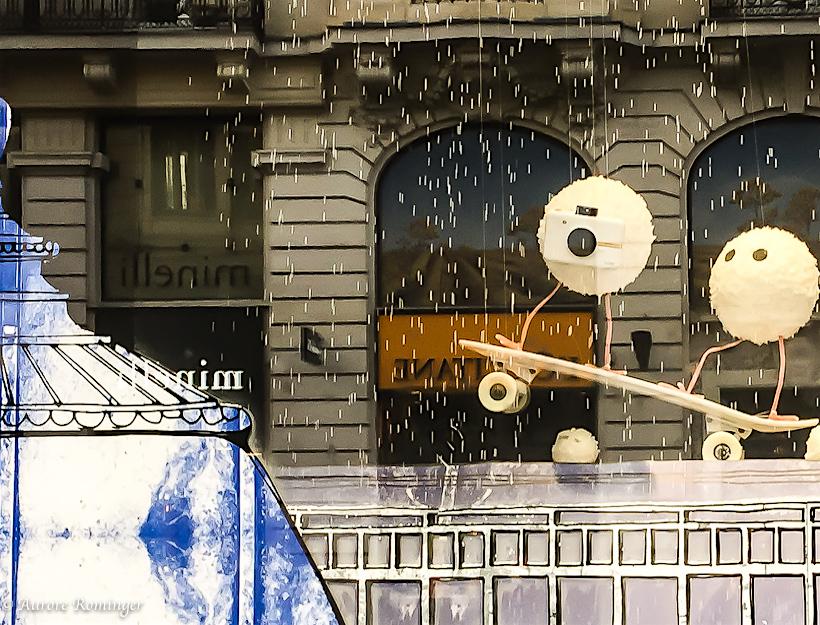 Bon Marché Holiday Windows, Paris Rue de Sévres