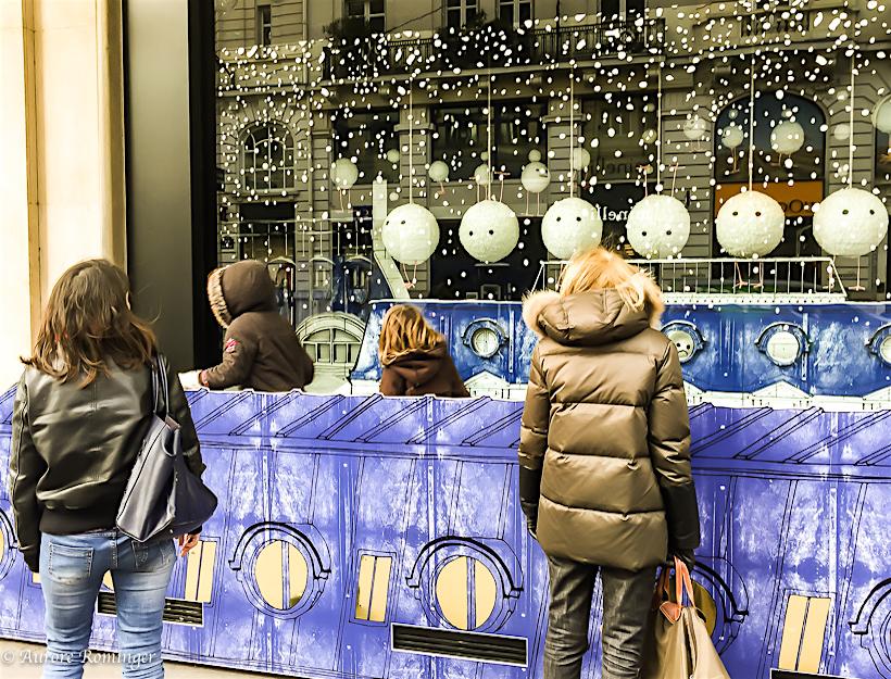 Paris: Le Bon Marché, Il Neige Rive Gauche