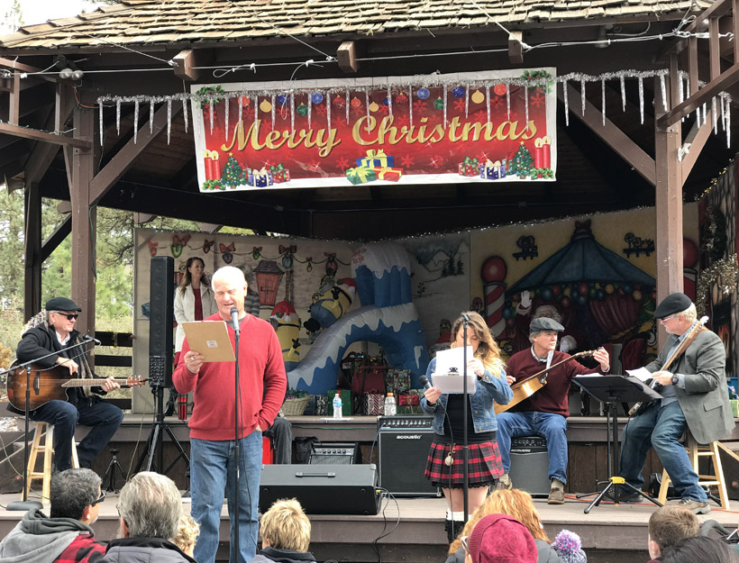 Pine Mountain Club, CA: Christmas in the Village