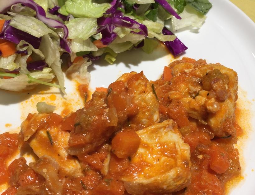 Kortni's Kitchen: Family Style Chicken Cacciatore