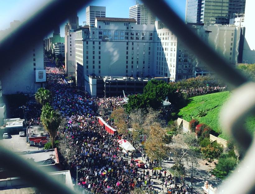 Women's March L.A., Jan. 21, 2017