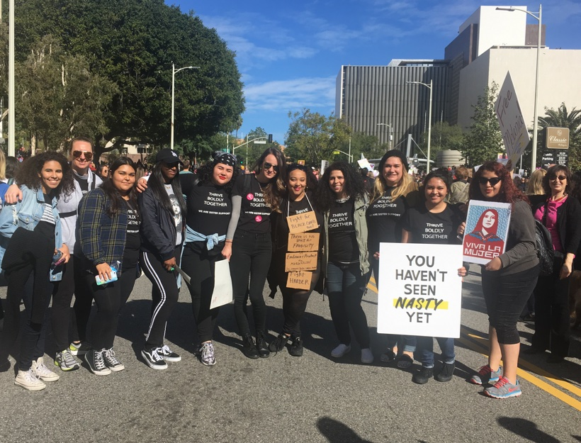 Women's March: Los Angeles, January 21, 2017 – Reflections ~