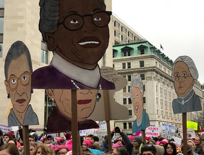 Women's March D.C., Jan. 21, 2017