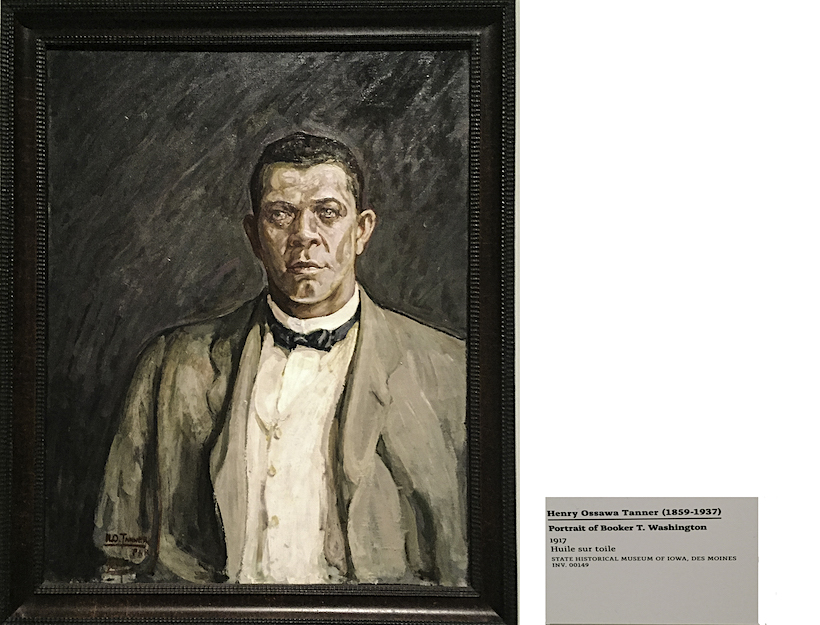 Booker T Washington, instrumental in bringing attention to the Color Line