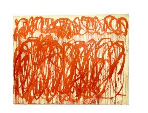 Love From Paris; Cy Twombly's Retrospective, Centre Pompidou